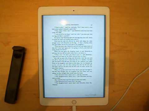 Google Books PDF Test iPad Air 2 Fairy Tales