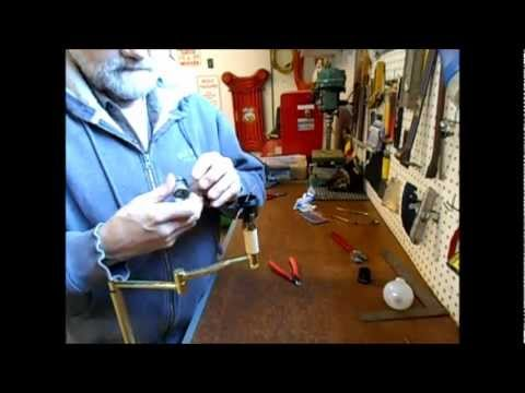 Replacing a Switch on a Trilight Living Room Lamp
