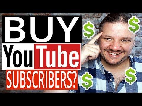 Should YOU Buy YouTube Subscribers? - Buying YouTube Subscribers