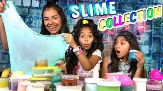 Slime Collection - Fun Slime Haul Video - Live Show // GEM Sisters