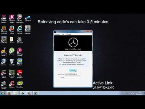 How To Get A Mercedes Radio Code   ml1430, e430, e320, e420, e200, clk320, c280, c230, c220