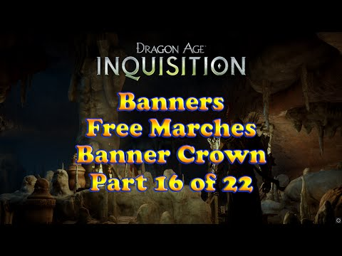 Dragon Age: Inquisition - Free Marches Banner Crown - Banners Collection - Skyhold Customizations