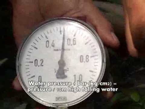 Head Measurement by Pressure Gauge Method