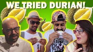 We tried Durian! | Bekaar Films | Ali Gul Pir | Junaid Akram