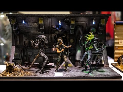 Elaborate Custom Dioramas for Action Figures!