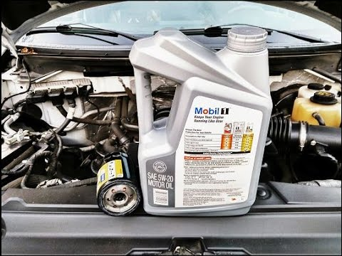 How To Change The Engine Oil On Any Vehicle  (FORD F-150)