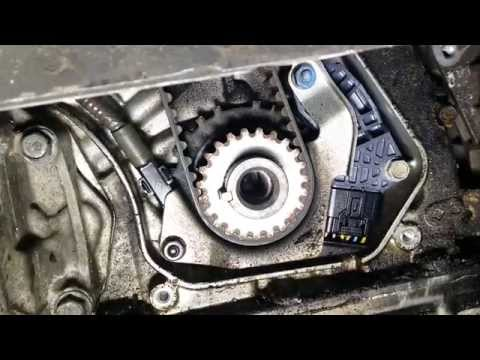 ACURA TL TIMING BELT AND CRANK SEAL REPLACEMENT PART 5