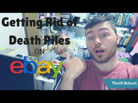 How to List Excess Ebay Inventory   Getting Rid of Death Piles