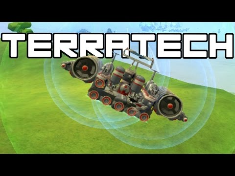 Terra Tech - Amazing Hovercraft! - TerraTech Gameplay