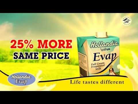 Hollandia Evaporated Milk