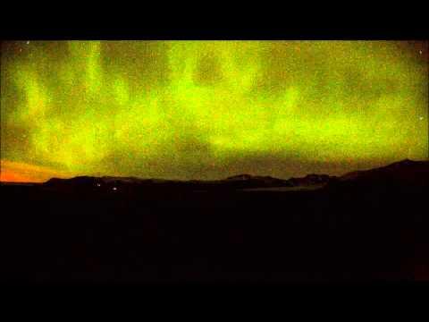 Night in Skaftafell Iceland
