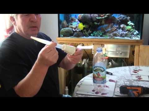 Part 1 DIY bio pearl/ pellet reactor for marine tank