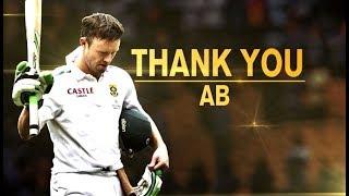 Thank You, AB de Villiers