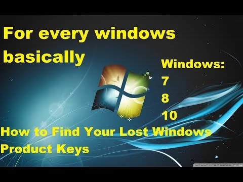 How to find Windows 10 product key after install easy way