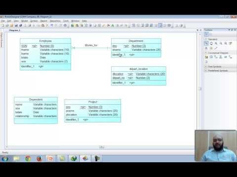 How To Draw ER Model using Power Designer 16