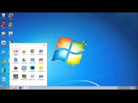 Create a Gmail Shortcut-Windows