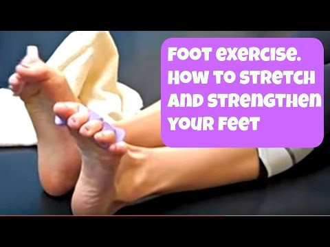 Free Foot Exercise video! How to Strengthen and Stretch Your Feet