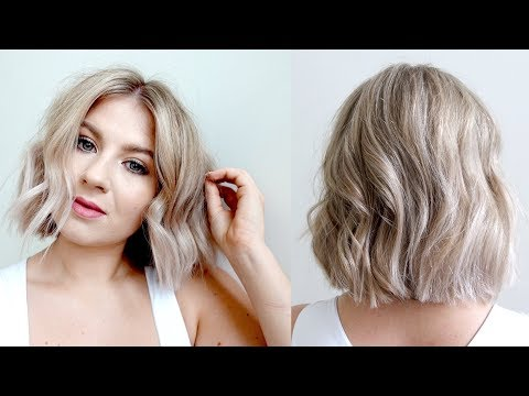 Hair Vlog: Icy Blonde & Blunt Haircut | Milabu