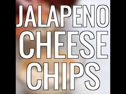 Easy Baked Jalapeno Cheese Chips