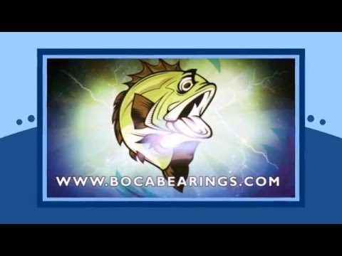 Boca Bearings ABEC 5 Curado 200 Free Spool Kit
