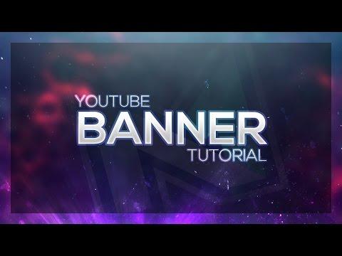 YouTube Banner Photoshop Tutorial 2017 (SVENSKA) @benmitkus94