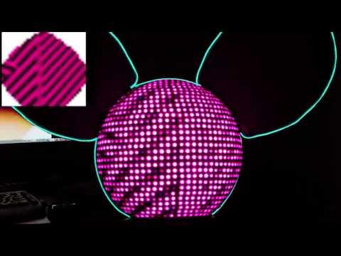 LED Deadmau5 head replica - Professional Griefers
