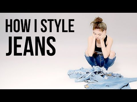 How to style Jeans 6 Looks   Janemakeup