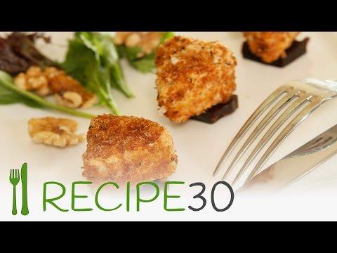 Fried Camembert recipe in 30 seconds