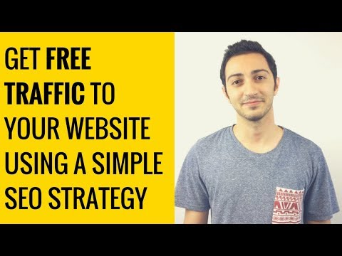 How to Get Free Traffic to Your Website Quickly Using a Simple SEO Strategy