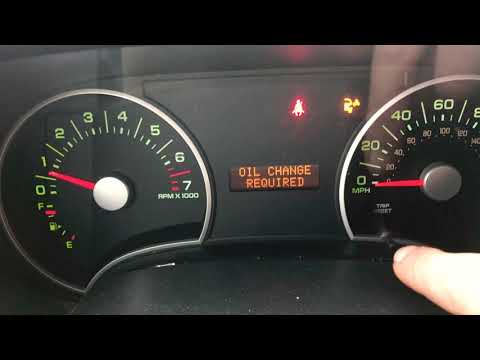 Reset the Oil Change Required Dash Light Ford Explorer 2006 2007 2008 2009 2010 Check Engine Clear