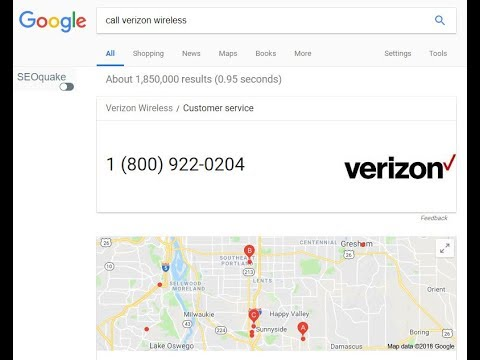 Calling Verizon Wireless from Skype