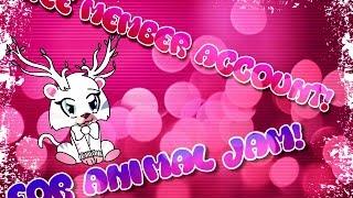 Animal Jam-3 FREE MEMBER ACCOUNTS   Daikhlo