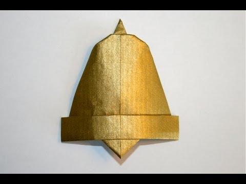 Origami - Cloche - Bell [Senbazuru]
