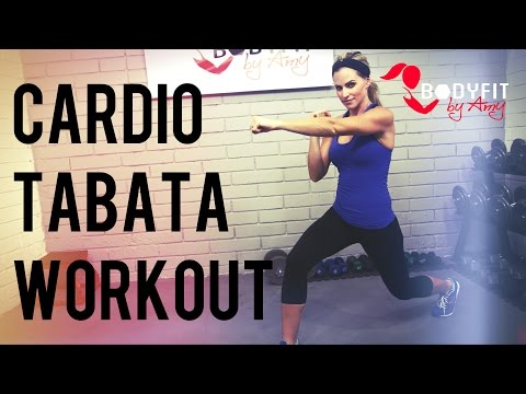 30 Minute Cardio Tabata Workout to Burn Calories and Blast Fat!