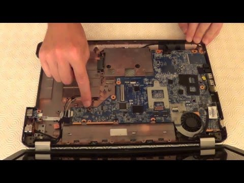 How to replace a laptop motherboard HP G56: step by step guide