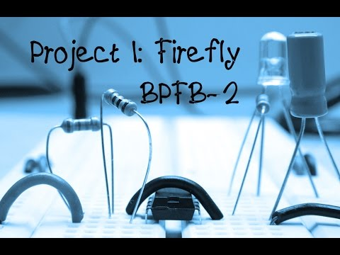 5 More Breadboard Projects For Beginners: Project 1- Firefly | DIY How To Make Instructions