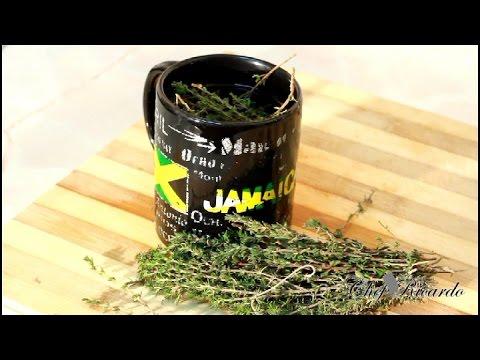 How To Make Thyme Tea | Recipes By Chef Ricardo