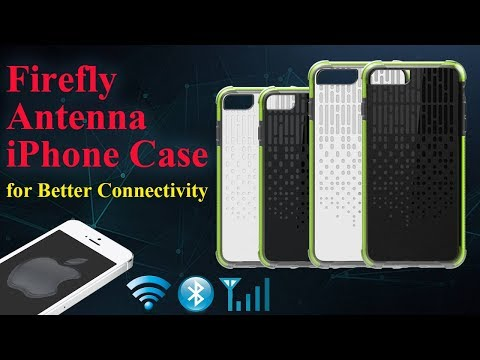 Firefly Antenna iPhone Case Will Improve Your Cellular Signal, Bluetooth Connectivity and WiFi Range