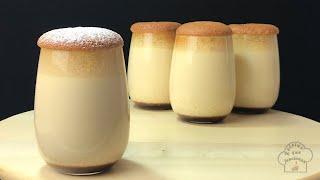 ¿Se volvera tu receta favorita? Descubre este Flan Japones con Castella