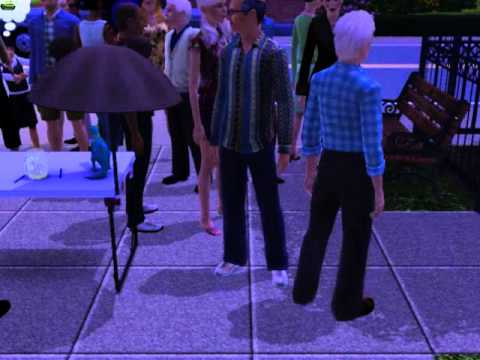 The sims 3 bake sale mob