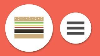 10 Awesome Css Hamburger Menu You Should See