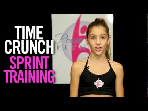 Power Girl Fitness - TIME CRUNCH - 10 minute ABS Workout