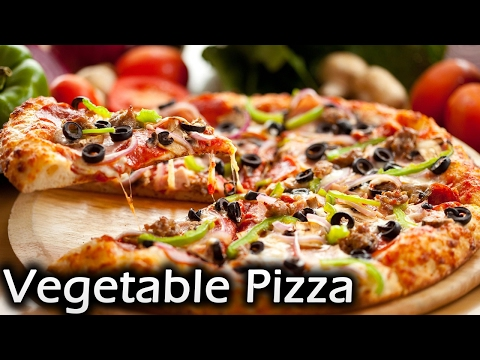 Vegetable pizza | No yeast pizza  | Pizza without oven | Easy panmade  pizza