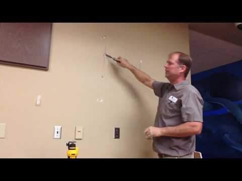 How to cut access hole in drywall clean and easy repair