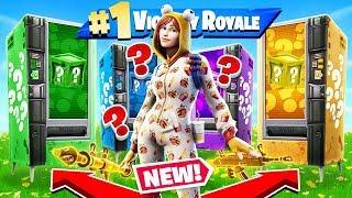 Vending Machine LUCKY BLOCKS *NEW* Game Mode in Fortnite Battle Royale