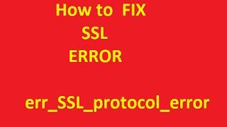 ERR_SSL_PROTOCOL_ERROR Videos - 9tube tv