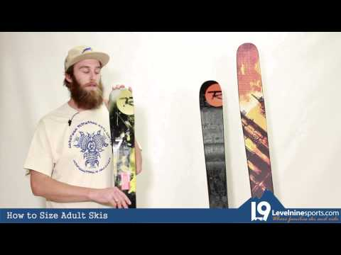 How to Size Adult Skis