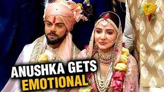 Anushka Sharma CRIES At Wedding Mandap VIDEO | Virat Kohli Anushka Sharma Wedding