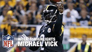Michael Vick Highlights Week 4 Ravens Vs Steelers Nfl