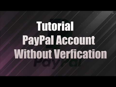 How to make a Paypal account without any verification 2016 ✔